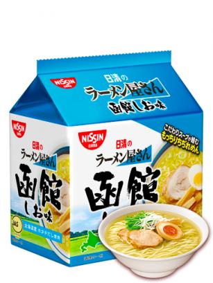 Ramen de Hokkaido Shio Veira Pollo y Cerdo | Bolsa Unidad  87 grs