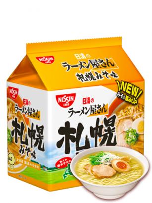 Ramen de Hokkaido Miso Pollo y Cerdo | Bolsa Unidad  88 grs
