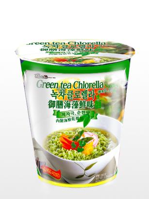 Fideos Ramen Coreanos de Té Verde y Algas Clorela | Edit. Cup