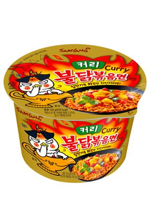 Ramen Coreano Salteado Wok Curry ULTRA HOT Chicken   Bowl