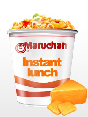 Ramen Maruchan Instant Lunch Cup, Queso Cheddar | Nº1 Mundial