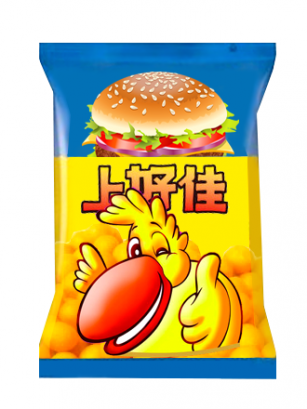 Snack Oishi Chesse Burger