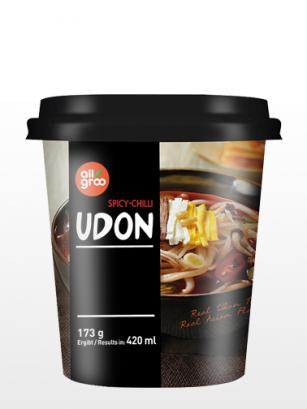 Fideos Udon Frescos Coreanos Picantes | Cup Edition