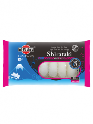 Fideos de Shirataki en Nudos 200 grs. | Pedido GRATIS!