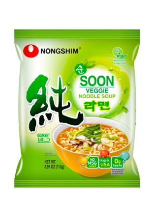 Fideos Ramen Coreanos Veggie Soon | Apto para Veganos