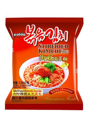 Fideos Ramen Coreanos con Kimchi | Premium