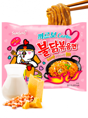 Ramen Coreano Salteado Wok Carbonara ULTRA HOT Chicken | Bag
