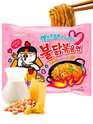Ramen Coreano Salteado Wok Carbonara ULTRA HOT Chicken | Bag