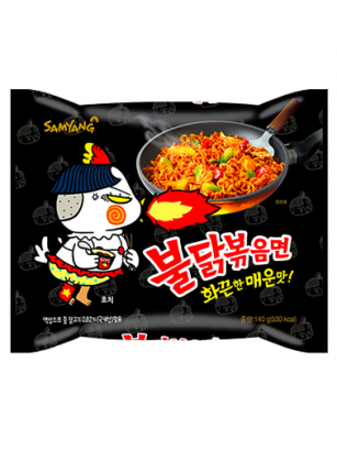Ramen Coreano Salteado Wok ULTRA HOT Chicken | Bag