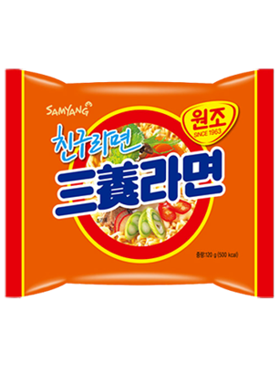 Ramen Coreano Samyang Ternera | Orange Bag