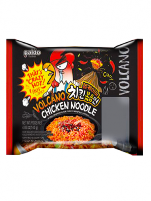 Ramen Coreano ULTRA HOT VOLCANO Chicken Curry | Bag 140 grs