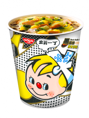 Demae Ramen Extra Cup | Black Tonkotsu | Fresh Sauce | Pedido GRATIS!
