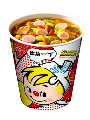 Demae Ramen Extra Cup Naruto | Classic Sesame | Fresh Sauce