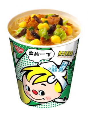 Demae Ramen Extra Cup | Tonkotsu | Fresh Sauce  | Pedido GRATIS!