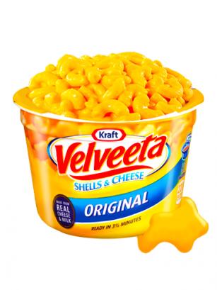 Macaroni & Cheese Receta Americana Velveeta Queso | Edit. Cup
