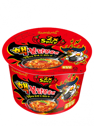 Ramen Coreano Salteado Wok ULTRA SUPER HOT Chicken | Bowl 105 grs