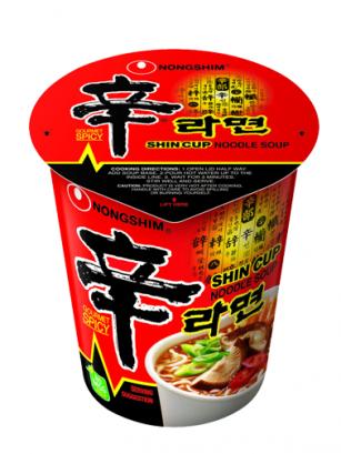 Fideos Ramen Coreanos, Shinramyun | Cup