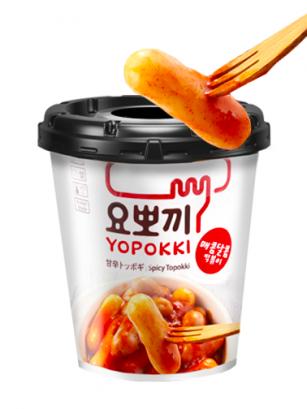 Yopokki | Mochis Coreanos Topokki Instantáneos con Salsa