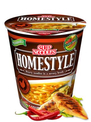 Big Cup Noodles Cup Pollo Picante | Receta Casera 80 grs