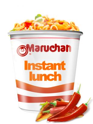 Ramen Maruchan Instant Lunch Cup, Pollo y Chipotle | Nº1 Mundial
