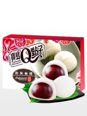 Mochis Daifuku de Crema de Azuki | Sakura Box