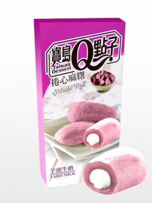 Mochis Cake Roll Cream Taro | Milky & Love | Premium
