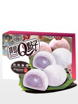Mochis Daifuku de Crema de Taro | Sakura Box