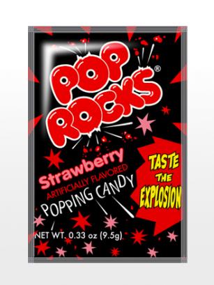 Polvos Pica Pica Sabor Fresa | Pop Rocks Popping