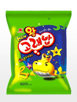 Snack Coreano Goraebap | Sabor Barbacoa Especiada | King Size 56 grs.