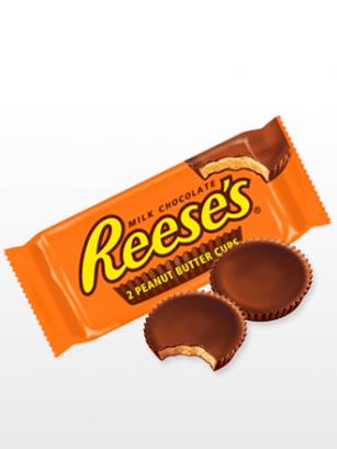 Chocolatinas 2 Cups Reese´s rellenas de Crema de Cacahuete