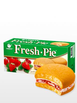 Choco Pie con Crema de Fresas y Frambuesas | 138 grs.