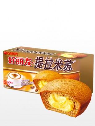 Choco Pie con Crema de Tiramisú | Receta Coreana