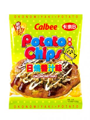 Patatas Chips Calbee Okonomiyaki de Osaka