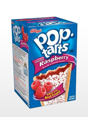 Pop Tarts Frosted Frambuesa