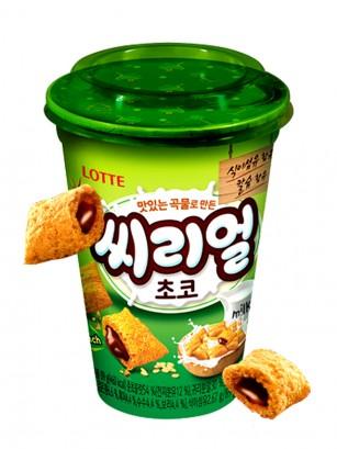 Almohadillas Coreanas de Avena y Trigo con Chocolate | Lotte Cup | Pedido GRATIS!