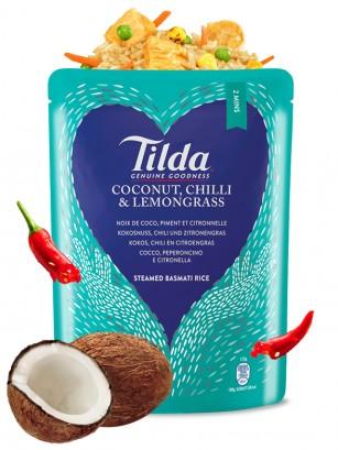 Arroz Basmati Preparado con Coco, Chili y Citronela 250 grs