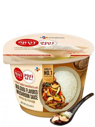 Arroz Coreano con Salsa Bulgogi y Setas Shiitake 247 grs