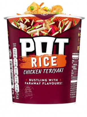 PoP PoT Arroz de Pollo Teriyaki 81 grs.