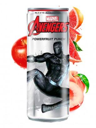 Soda Los Vengadores  Powerfruit Punch Pantera Negra | Edición Coleccionista 355 ml