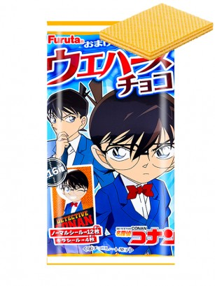 Waffers rellenos de Crema de Chocolate | Detective Conan