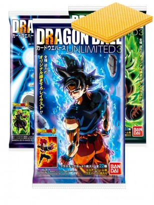 Waffers de Chocolate | Dragon Ball Super Broly | 3 Diseños Diferentes
