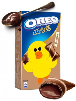 Mini Creps de Oreo rellenos de Chocolate | Edición Line Friends 47 grs