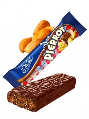 Chocolatina de Cacao y Cacahuetes | Wedel Lotte 45 grs