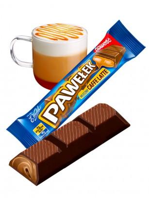 Chocolatina de Crema Cafe Latte | Wedel Lotte 45 grs