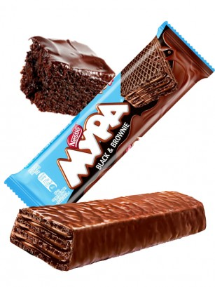 Barrita de Chocolate Negro Nestle y Brownie 33 grs