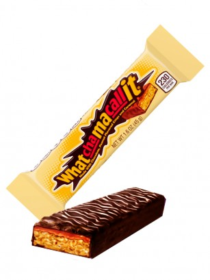 Chocolatina Crujiente de Cacahuete y Caramelo | Whatchamacallit 45 grs
