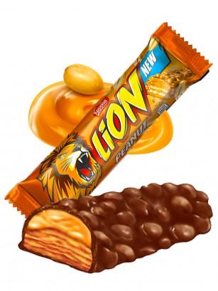 Barrita de Chocolate y Crema de Cacahuete | Lion Nestle 40 grs