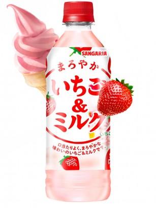 Bebida de Batido de Fresas de Primavera de Fukuoka 500 ml.