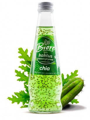 Bebida Sabor Cactus y Citronela con Chia | 225 ml.