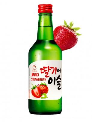 Licor Coreano Soju Chamisul con Fresa 360ml.